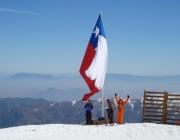 La Parva Chilean Flag
