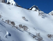 Hakuba alpine backcountry turns