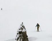 ski touring in Happo-one
