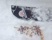 splitboarding in Japan