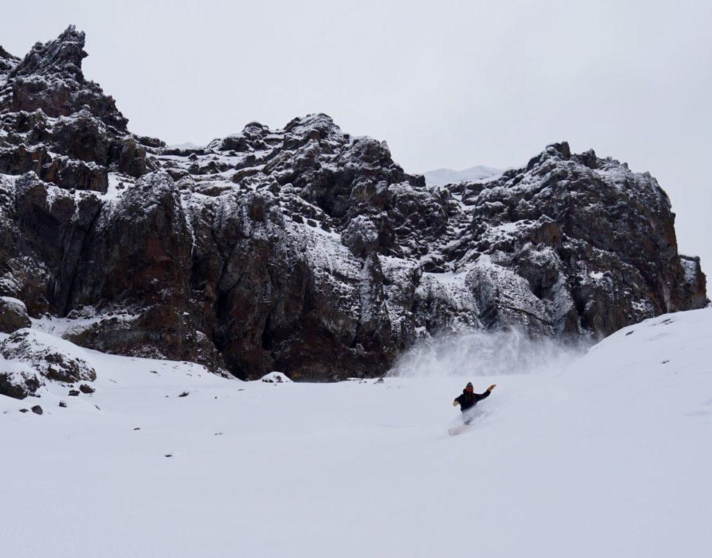 snowboarding san martin de los andes
