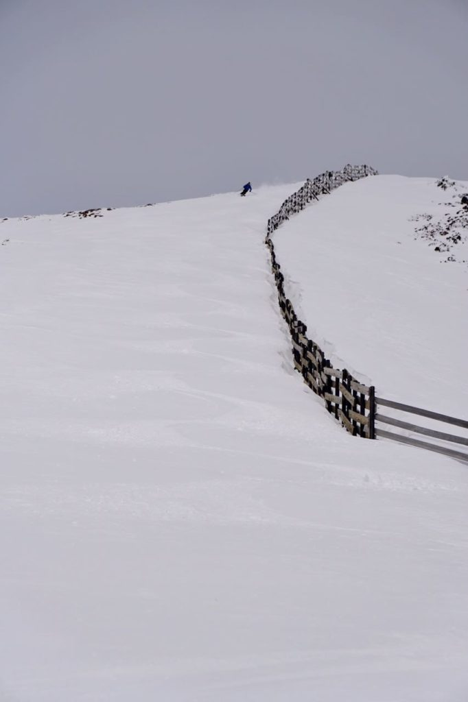 powder skiing chapelco