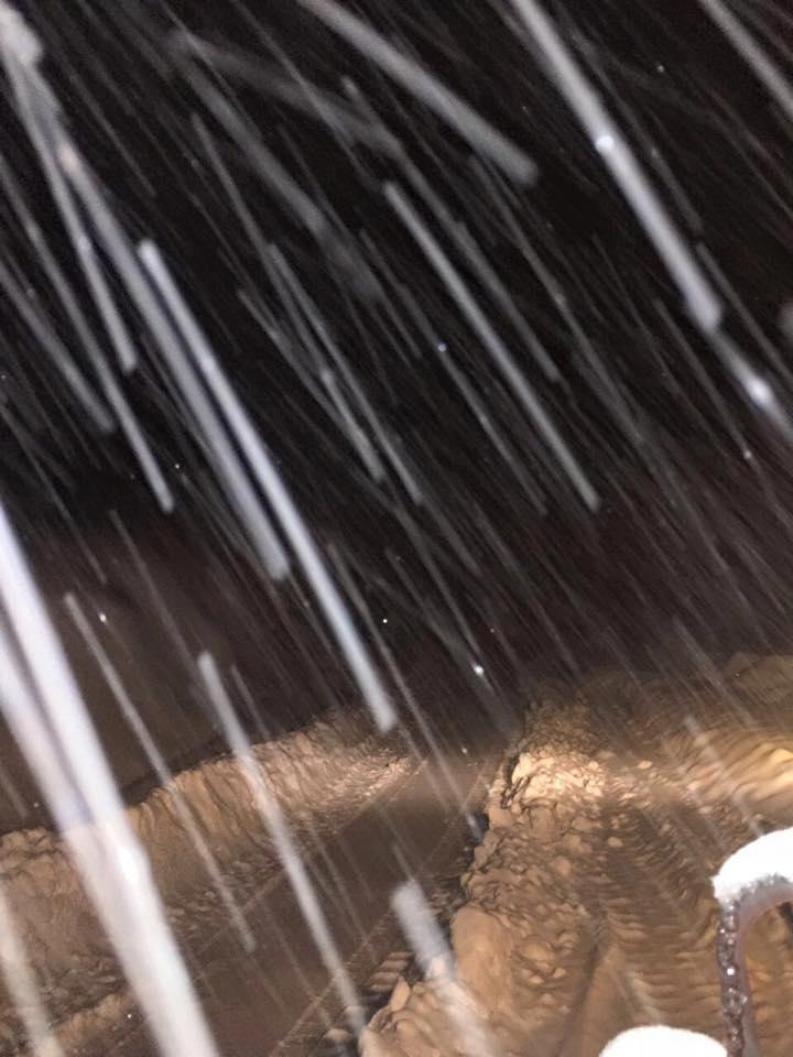 valle nevado snowfall