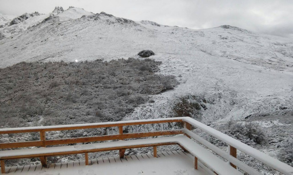 Baguales first snow of 2015