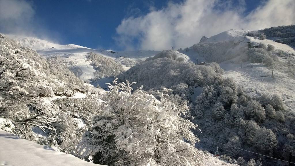 cerro catedral snow june