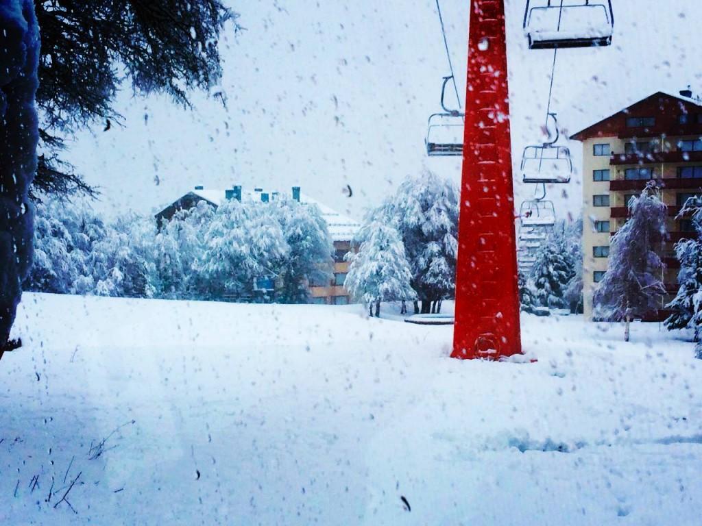 snow in Chillan