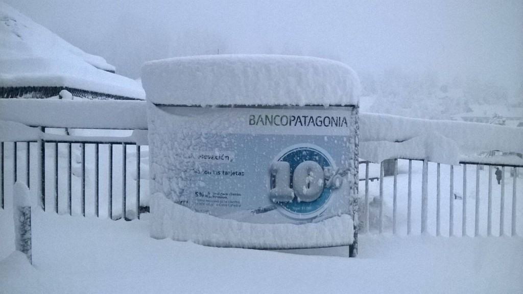 Cerro Catedral snow storm