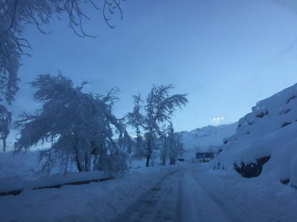 road to farellones