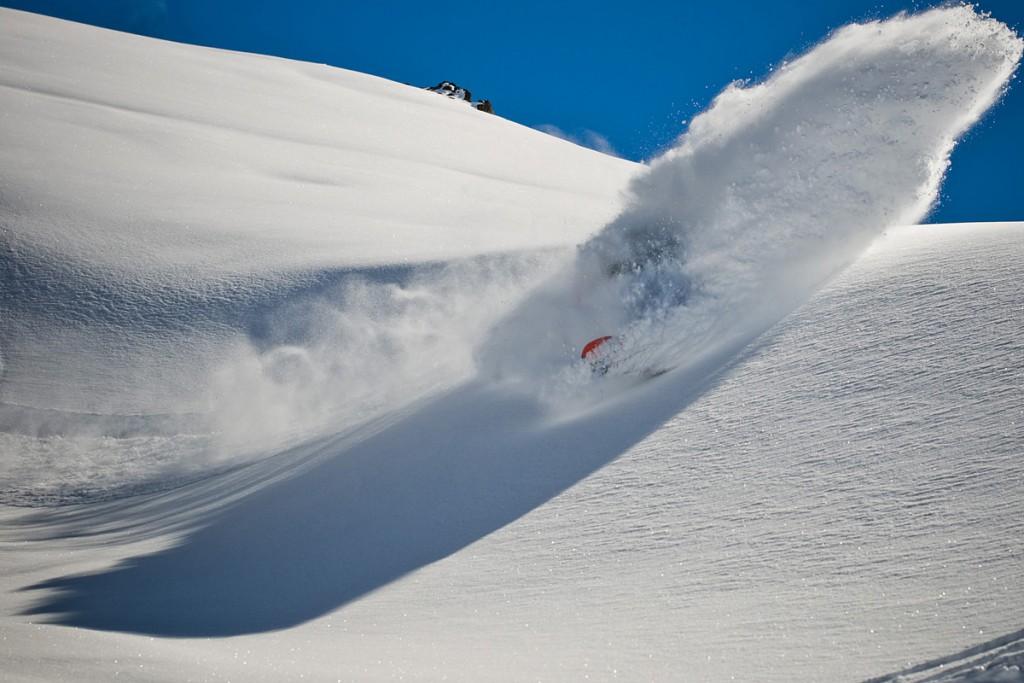 Valle Nevado powder day with Curtis Ciszek