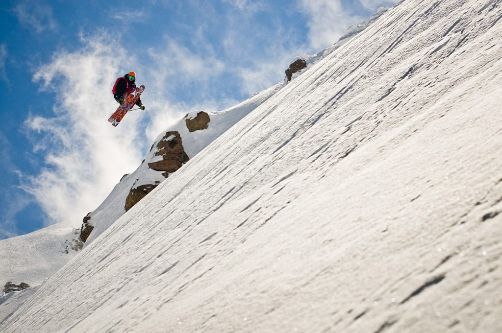 chris benchetler skiing in chile