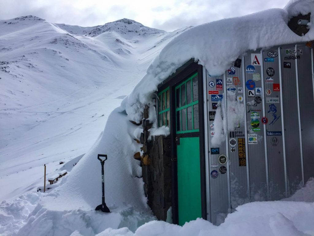 Arpa's avalanche shelter