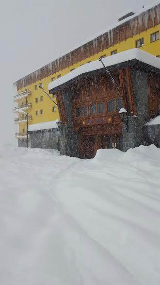6.5 feet of portillo snowfall