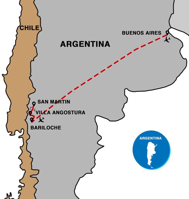 patagonia ski map