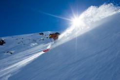 Incredible Snow Conditions at Nevados de Chillan