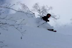 japan snow skiing