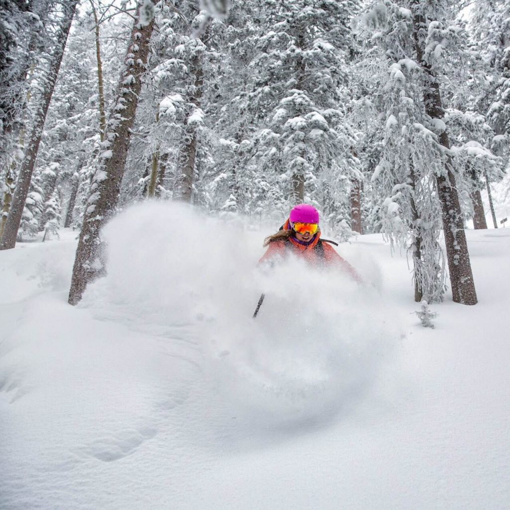 claire smallwood skiing Taos