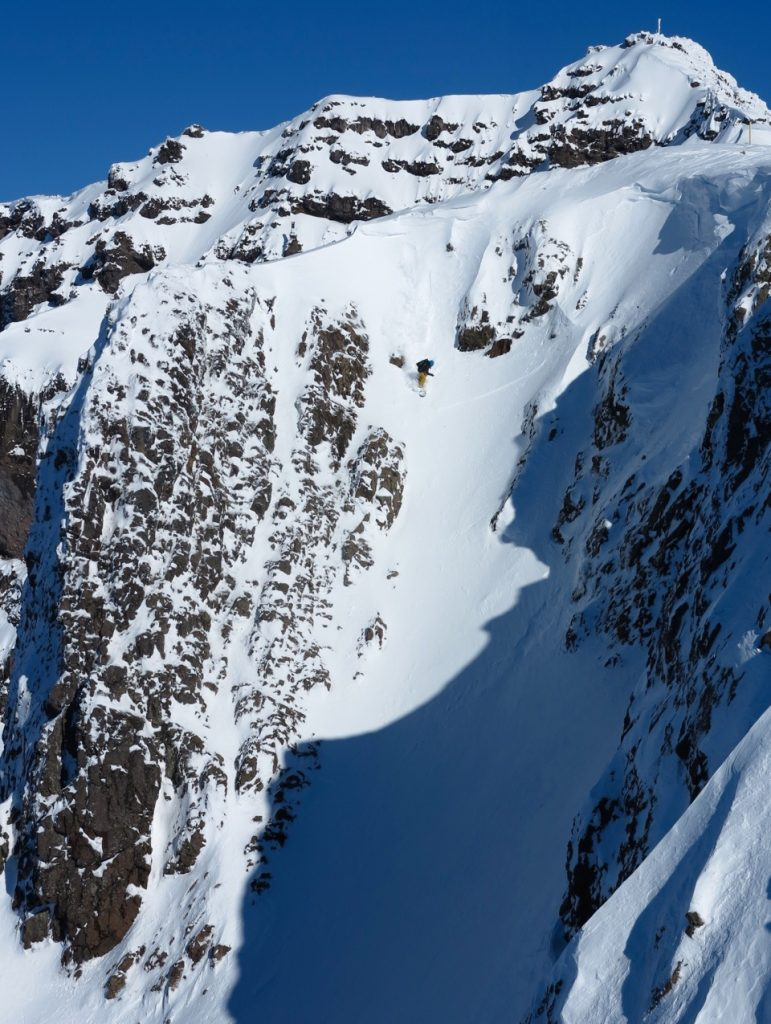 chutes in chapelco