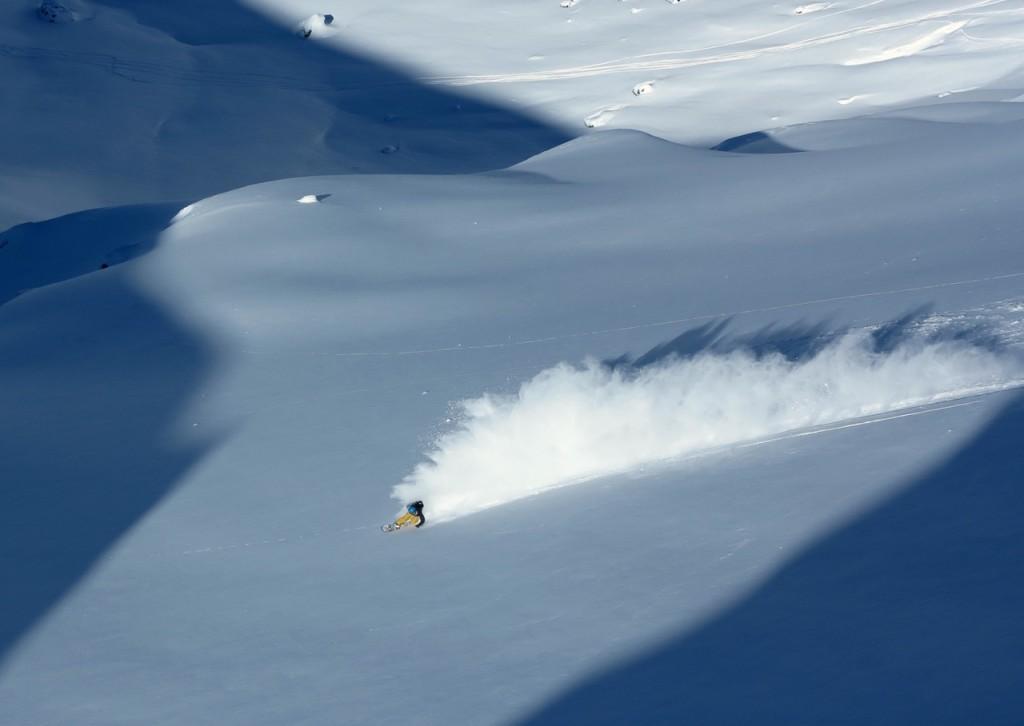 snowboarding chapelco