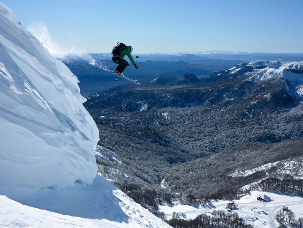 skiing chapelco