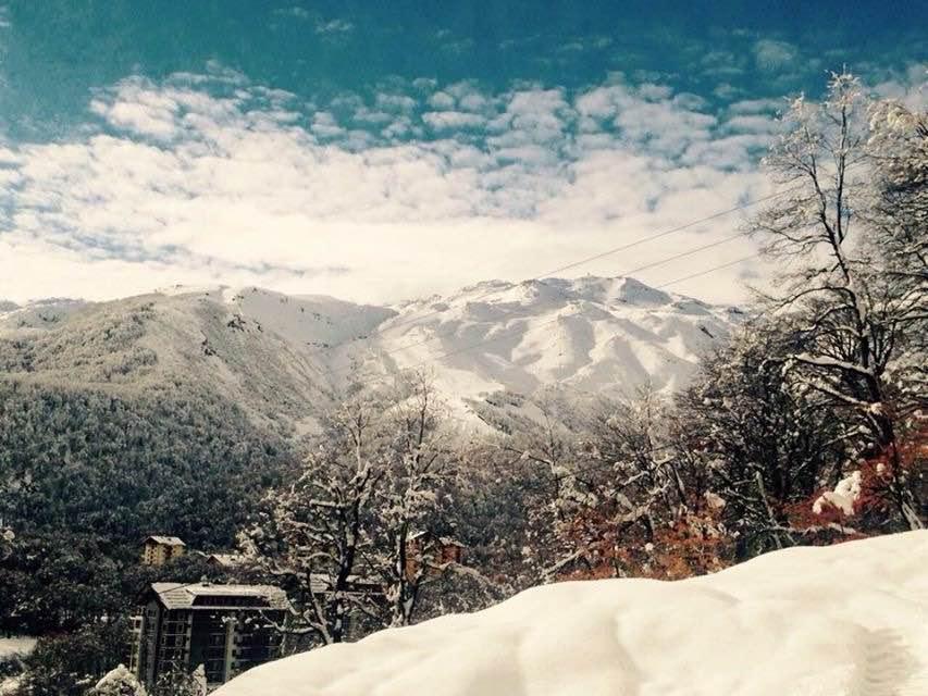 june snow in chillan