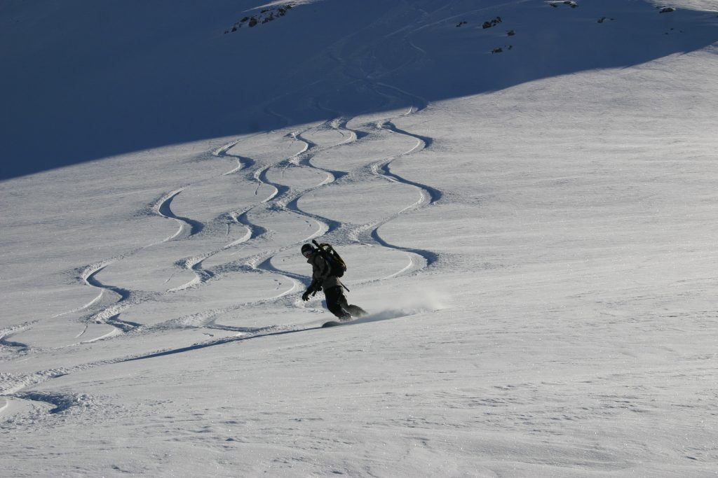 where to snowboard this summer