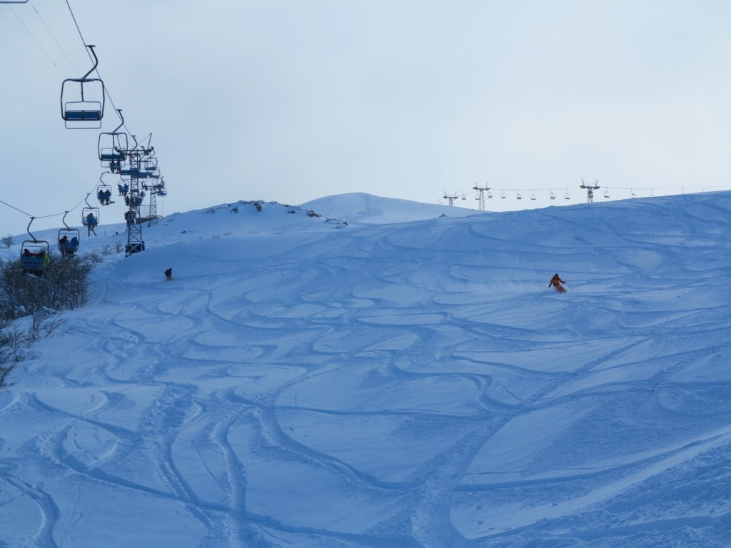 snow skiing argentina