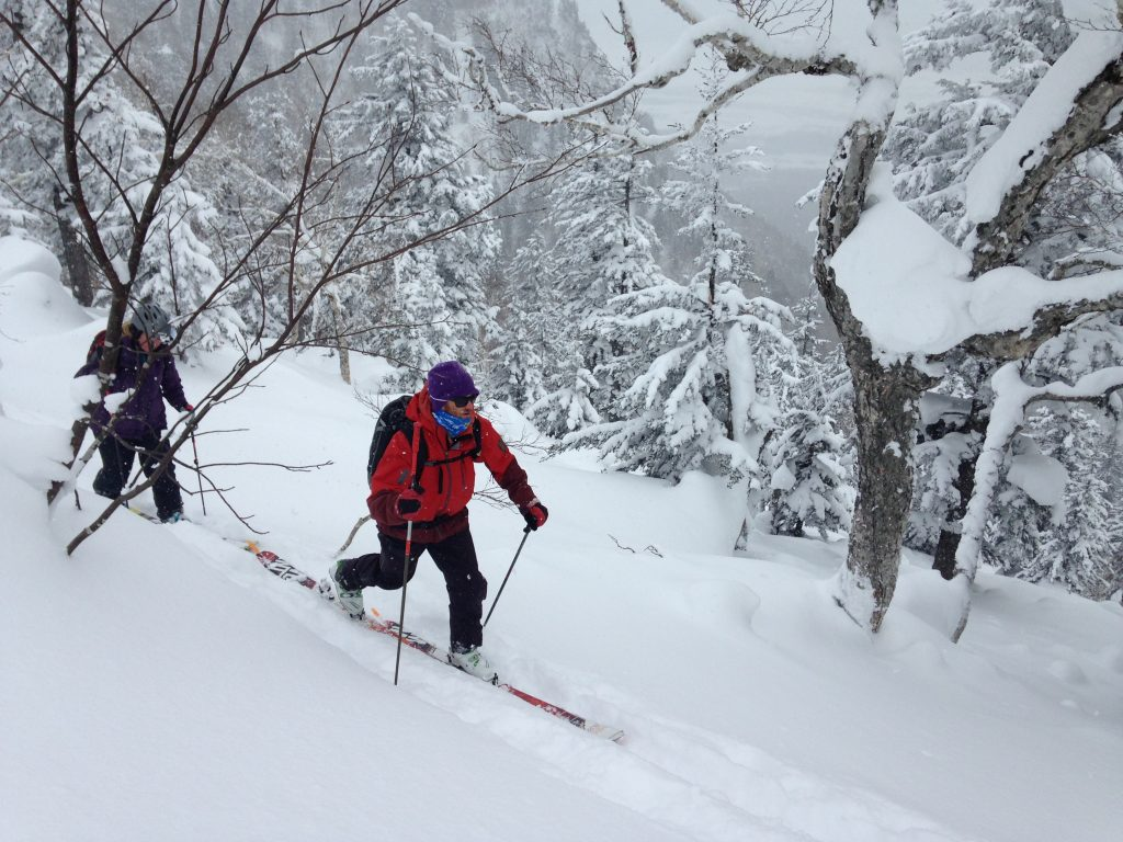 backcountry ski touring in japan