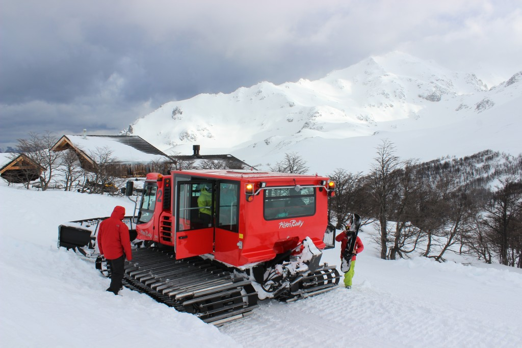 cat skiing argentina