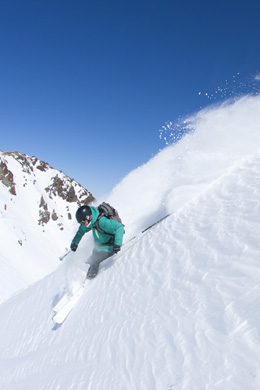 Ingrid Backstrom, Nevados De Chillan, Chile - Photo: Adam Clark