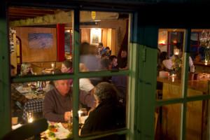 La Marmita, La Parva's famous fondue restaurant