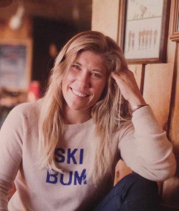 Pro skier Jess McMillan