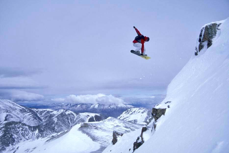snowboarding patagonia