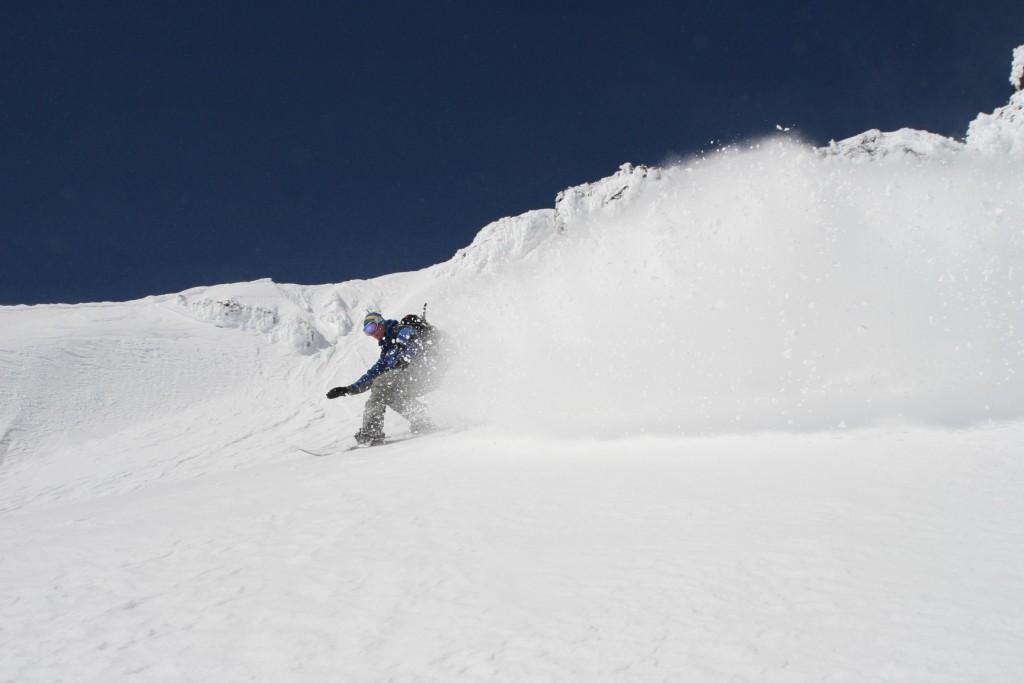 snowboarding villarrica