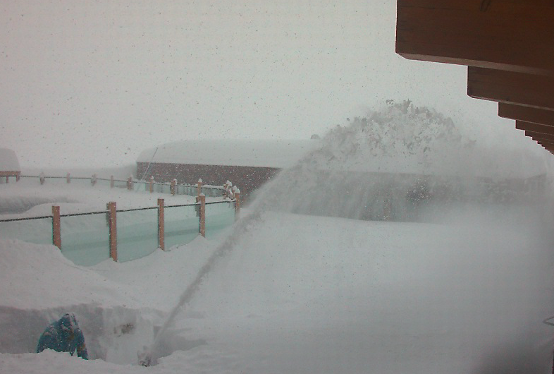 deep in valle nevado