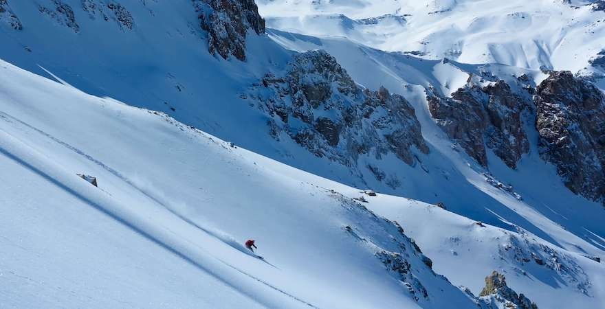 andes backcountry skiing