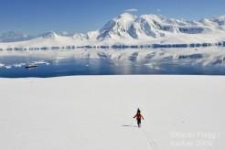 PowderQuest Ski Guides in Antarctica