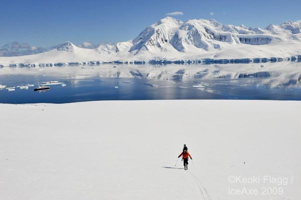 ski touring antartica