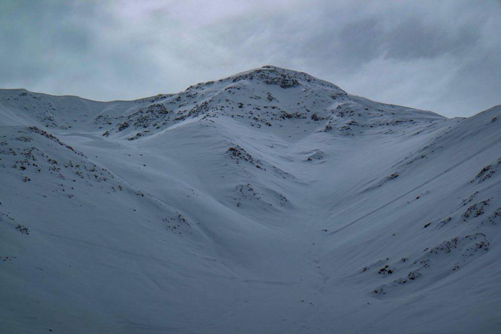 ski terrain at Arpa is amazing