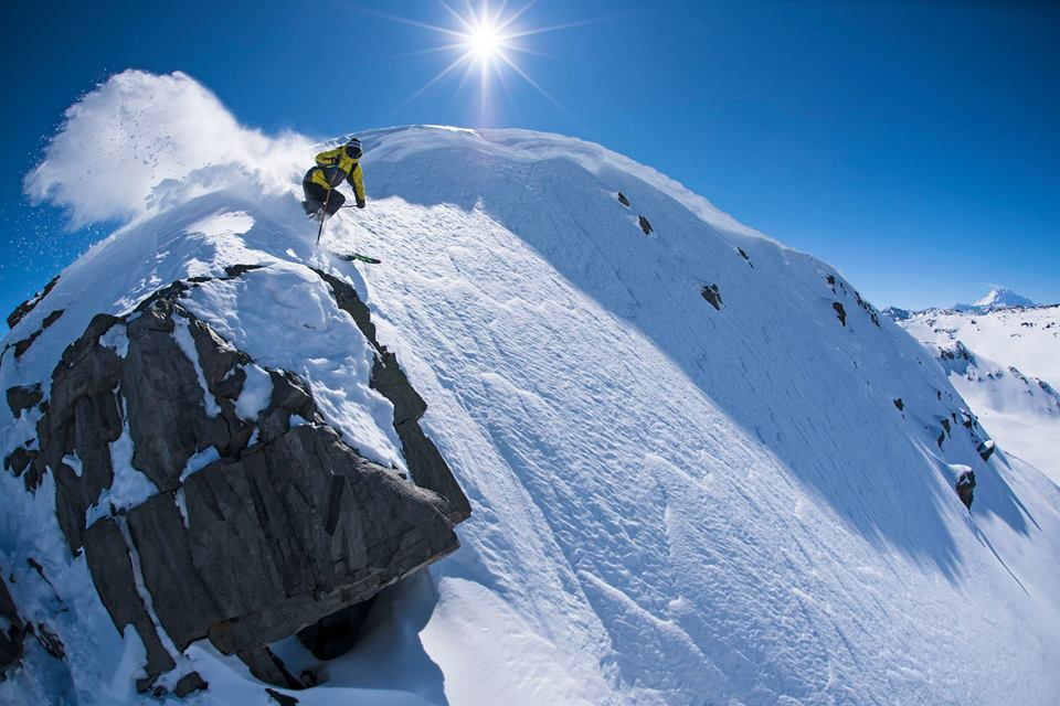 adventure cat skiing in chile