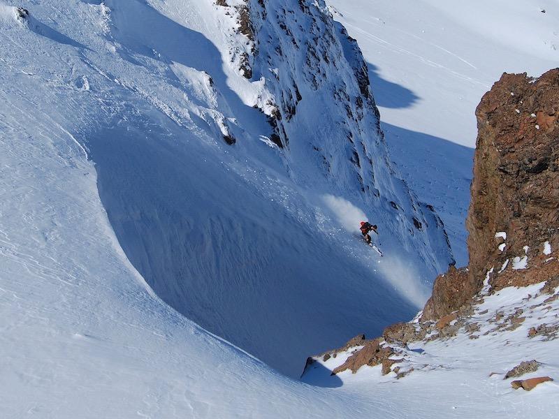 patagonia backcountry skiing