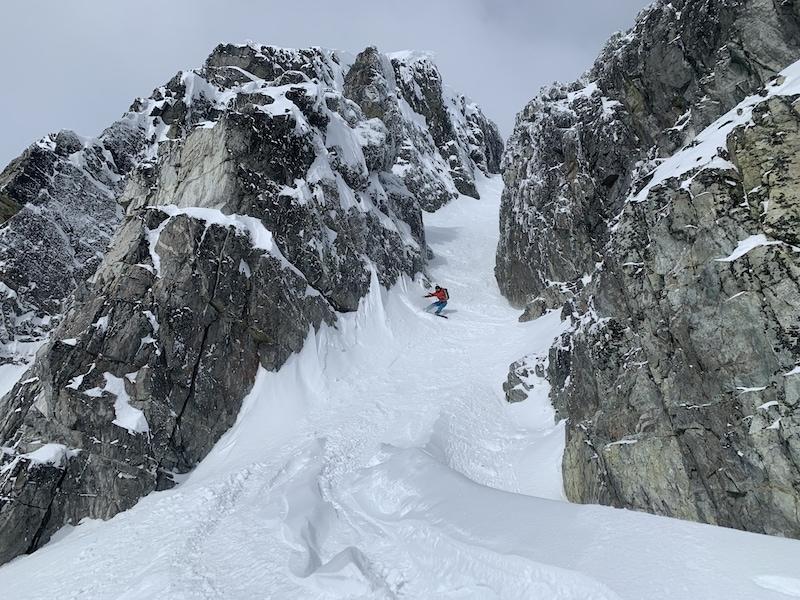 backcountry snowboarding in whistler canada