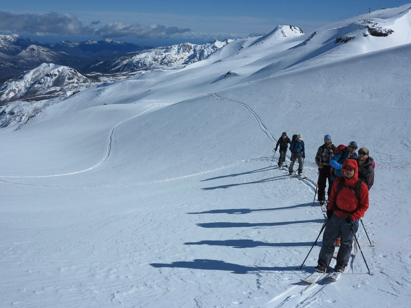 backcountry touring in chile
