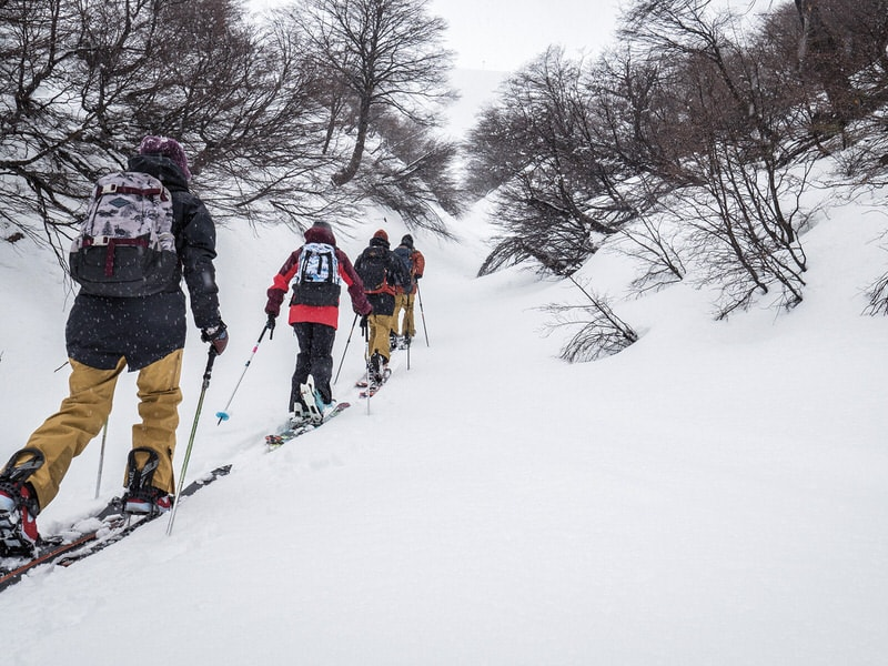chile backcountry touring