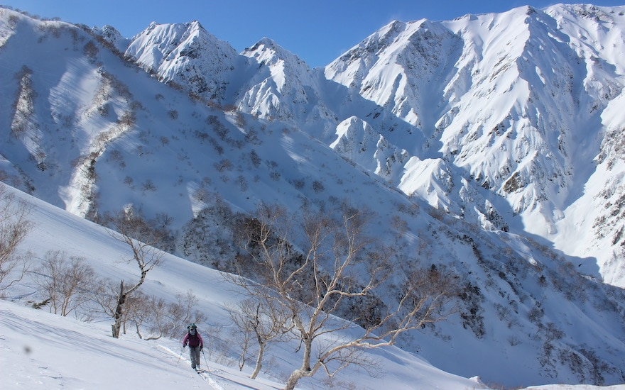 backcountry ski tours and snowboard trips