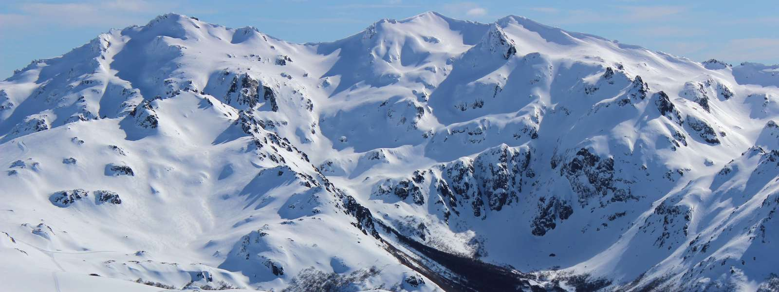 baguales mountain reserve's catskiing in patagonia