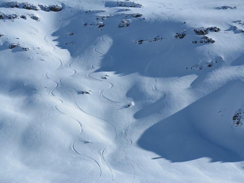bariloche backcountry terrain