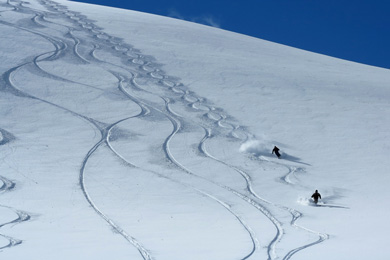 Catedral's terrain has everything from powder turns to extreme terrain.