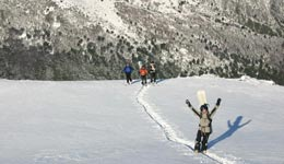 Getting There - Cerro Bayo