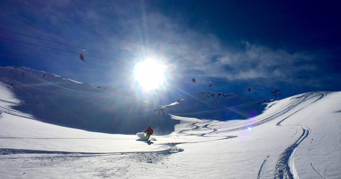 Become a better skier this summer and soak in the amazing vistas in Chile