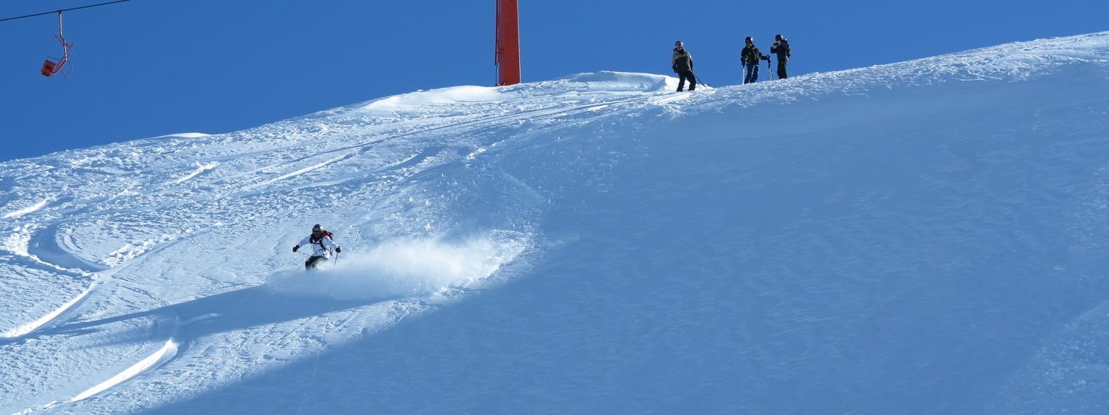 chile ski progression tour